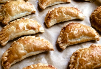 Indonesian-style pasties
