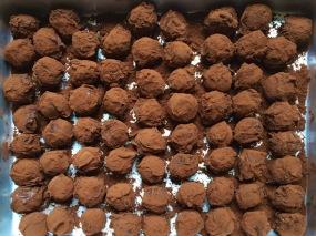 Chocolate truffles