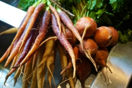 Heritage carrots & beetroot