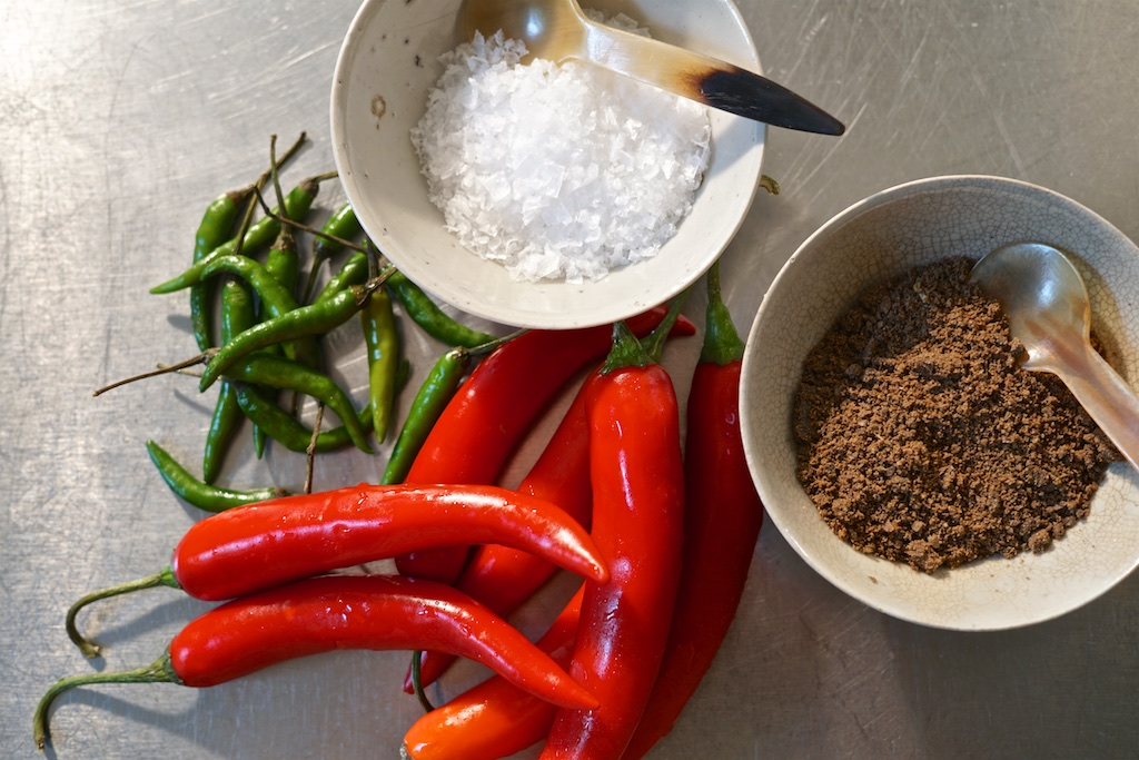 sambal terasi ingredients